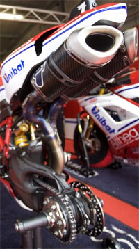 Lightech used by Althea racing in WSBK.